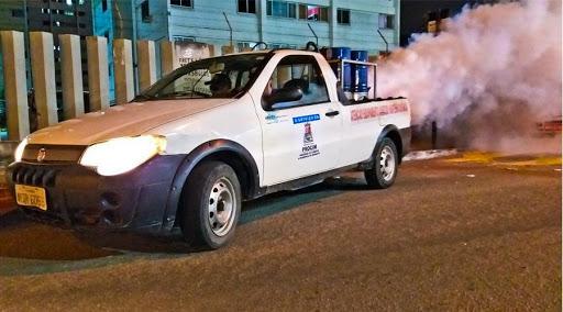 Rota do fumacê visita mais de 40 bairros em Vila Velha esta semana