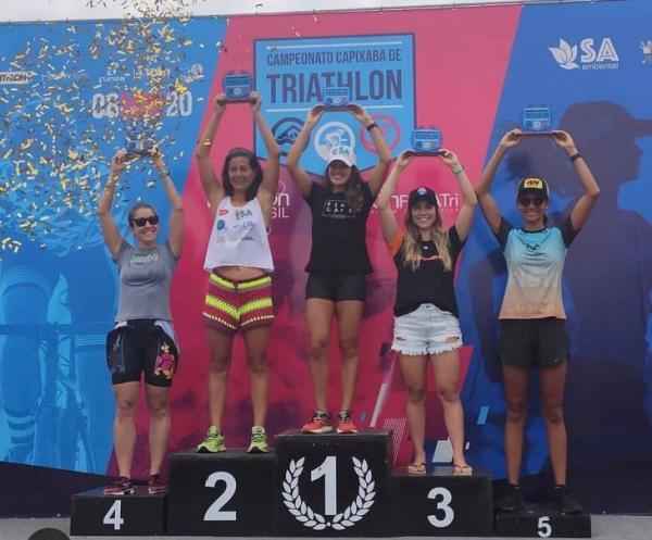 Favoritos vencem na 1ª etapa do Campeonato Capixaba de Triathlon