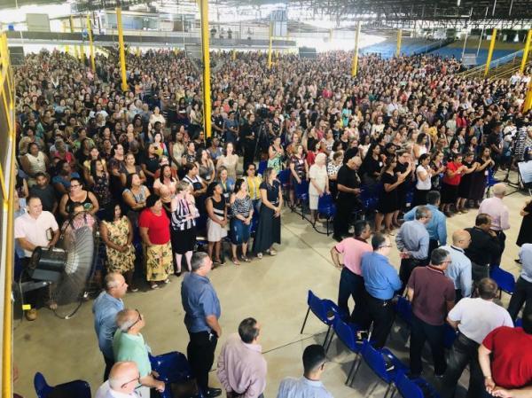 Mais de 3.500 pessoas se reuniunirão no seminário da Igreja Cristã Maranata