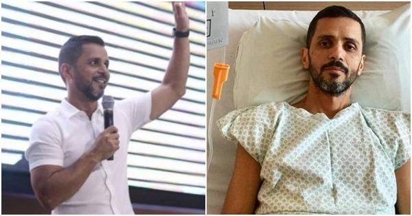 Pastor Cristian Oliveira relembra vitória contra o câncer