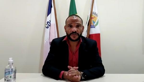Presidente da Câmara de Guarapari faz apelo para que a população se previna contra coronavírus