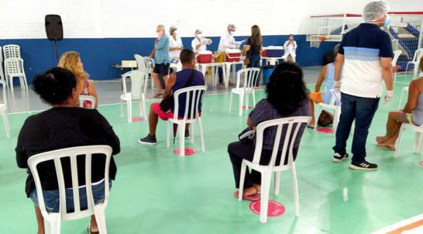 Vila Velha inicia Vacinação Contra a Influenza, são 22 mil vacinados no primeiro dia
