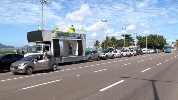 Associação de municípios do ES é notificada para que prefeitos evitem aglomeração em carreatas