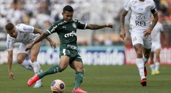 Palmeiras e Santos empatam sem gols no Campeonato Paulista