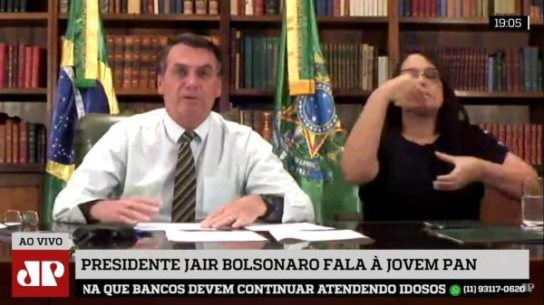 Bolsonaro: 'na semana que vem, se não começar a voltar emprego, vou tomar decisão'