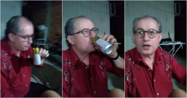 Arrependido, homem que filmou Reuel bebendo cerveja tentou o suicídio