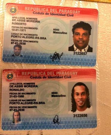 Ronaldinho e Assis depõem, e promotor diz que números de passaportes pertencem a outros