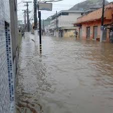 Chuvas em Vila Velha - Jerônimo Monteiro em Paul alagado